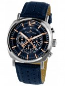 Jacques Lemans 1-1645I Lugano Herr Chrono 46mm 10ATM