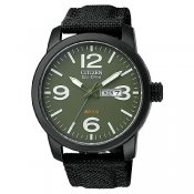 Citizen Eco-Drive Military BM8475-00X herrklocka front 2