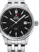 Swiss Military SMP36009.01 Herr 41mm 5ATM