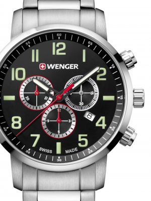 Wenger 01.1543.102 Attitude Chronograph 44mm 10ATM