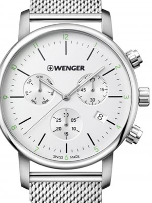 Wenger 01.1743.106 Urban Classic Chrono 44mm 10ATM