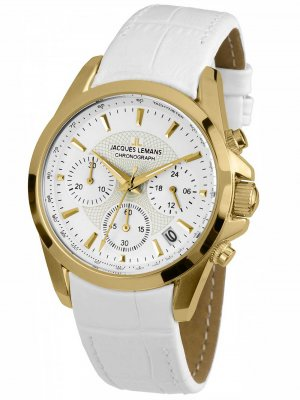 Jacques Lemans 1-1752D Liverpool Chronograph Dam 36mm 10ATM
