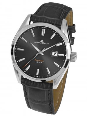 Jacques Lemans 1-1846A Derby Herr Automatik 42mm 10ATM