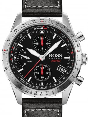 Hugo Boss 1513770 Aero Herr Chronograph 44mm 20ATM