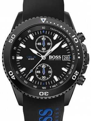 Hugo Boss 1513776 Vela Herr Chronograph 43mm 20ATM