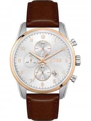 Hugo Boss 1513786 Skymaster chronograph, Herr 44mm 5 ATM
