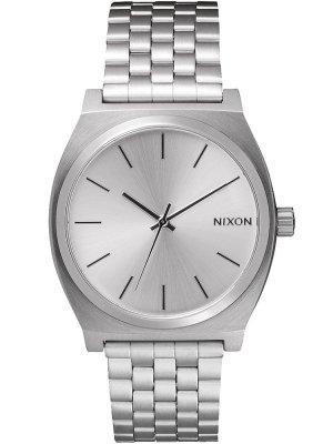NIXON A045-1920 Time Teller All Silver 37mm 10ATM