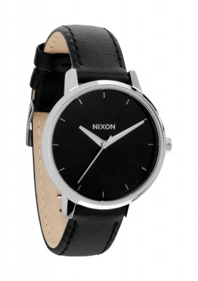 NIXON Kensington Leather Black A108-000 damklocka