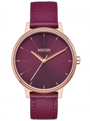 Nixon A108-2479 Kensington Leather Dam 37mm 5ATM