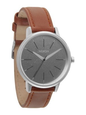 NIXON Kensington Leather A108-747 Saddle damklocka