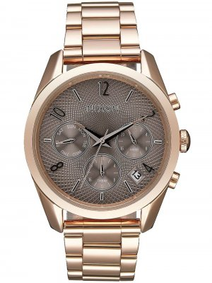 NIXON A949-2214 Bullet Chrono 36mm Rose Gold Taupe 5ATM