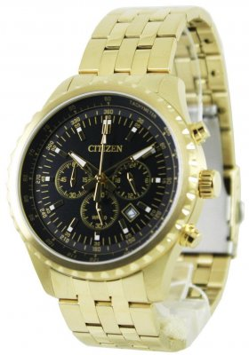 Citizen Quartz Chronograph AN8062-51E herrklocka fram