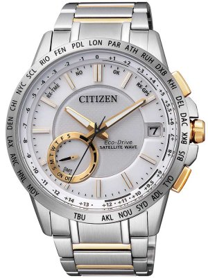 Citizen Satellite-Wave GPS CC3004-53A herrklocka fram