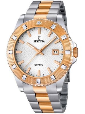 Festina Vendome F16687/1 Dam bicolor 40 mm