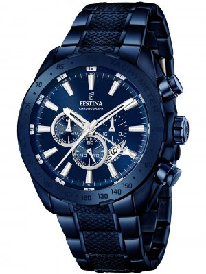 Festina F16887/1 Dual-Time Chronograph 44mm 10ATM