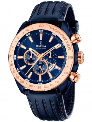 Festina F16897/1 Dual-Time Chronograph 44mm 10ATM