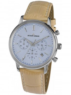 Jacques Lemans N-209D Retro Classic Unisex Chrono 39mm 5ATM