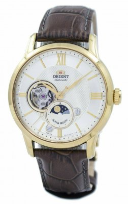 Orient Classic Sun And Moon RA-AS0004S00B herrklocka fram