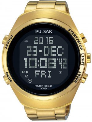 Pulsar PQ2056X1 Digitaluhr 46mm 10ATM
